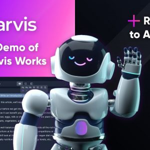 Official demo of Jarvis, What is Jarvis/Conversion.ai?