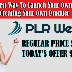 PLR Review Video-A LEGIT COURSE WITH 2 UPSELLS | PLR training course + WordPress theme for reselling