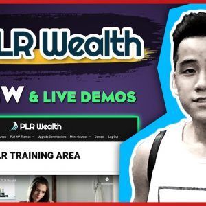 PLR Wealth Review [FULL Demos] | Best Way To Reselling PLR 🔥