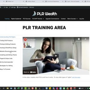 PLR Wealth Review OTO Upsell Link - PLR Wealth Demo Video