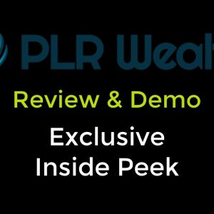 PLR Wealth Training Course Review Demo By Chris Derenberger