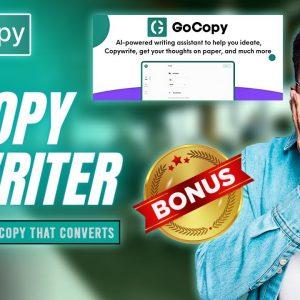 Gocopy Ai Writer ✅ Gocopy Ai Writer Review 😱 Ai Content Writer