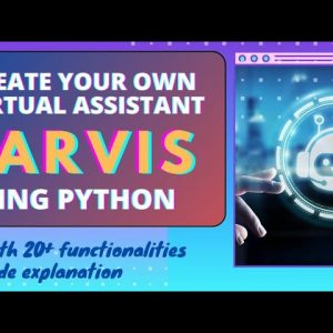 Jarvis AI Personal Voice Assistant Using Python  Fortunate Programmer | Iron Man Jarvis Using Python