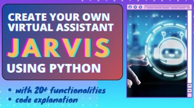 Jarvis AI Personal Voice Assistant Using Python  Fortunate Programmer   Iron Man Jarvis Using Python