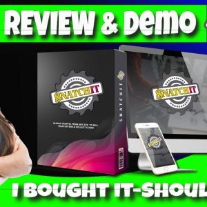 SnatchIt Review and Demo | I Bought it Should You?