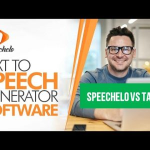 Speechelo vs Talkia of these 2 text to speech softwares -  Best of 2021
