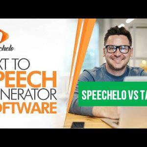 Speechelo vs Talkia - Text to Speech Comparison - Review 2021