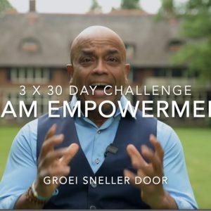 Team Empowerment 3 x 30day Challenge. Business & Marketing Boost