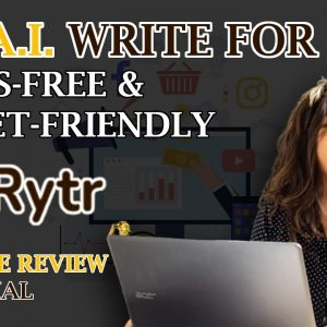 The Best AI Copywriting Tool - Rytr Review and Tutorial