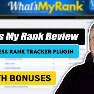 What's My Rank Review | Wordpress Rank Tracking Plugin