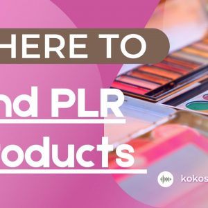 Where To Find PLR Products And Make Money Online