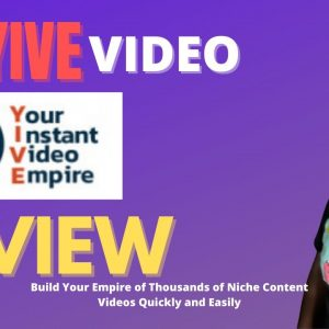 Yive Review - yive video builder | Vidnami alternative